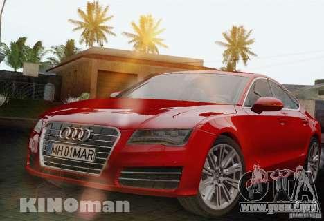 Audi A7 Sportback 2010 para GTA San Andreas
