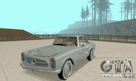 Mercedes-Benz 280SL (brillante) para la vista superior GTA San Andreas