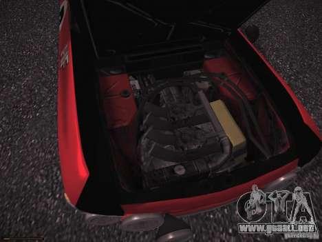 Lancia Fulvia Rally para visión interna GTA San Andreas