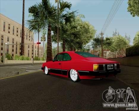 Chevrolet Opala Diplomata 1986 para la visión correcta GTA San Andreas