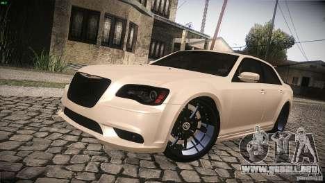 Chrysler 300 SRT8 2012 para la vista superior GTA San Andreas