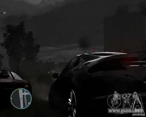 Jaguar XF-R para GTA 4 vista interior