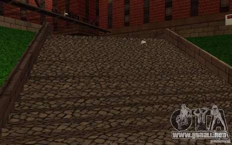 Nuevas texturas para el hospital en Los Santos para GTA San Andreas décimo de pantalla