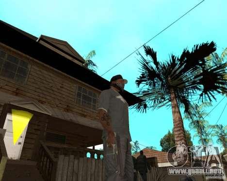 Desert Eagle de CoD: MW2 para GTA San Andreas tercera pantalla