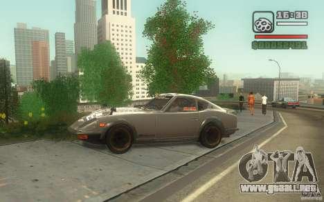 Datsun 240ZG para GTA San Andreas left
