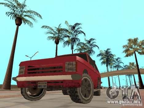 El nuevo Huntley para visión interna GTA San Andreas