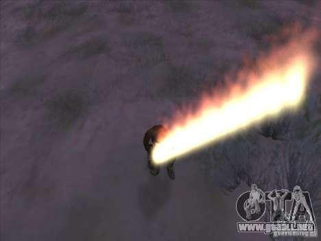 Espada de fuego para c Jay para GTA San Andreas tercera pantalla