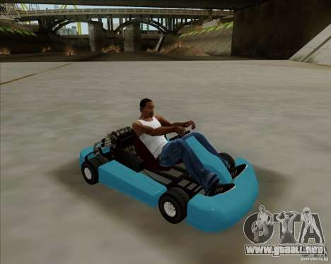Kart para GTA San Andreas