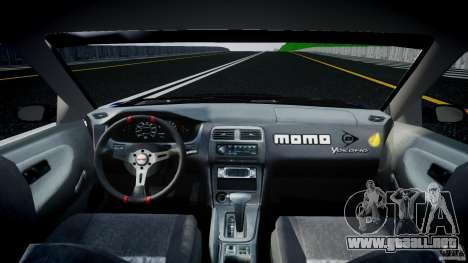 Nissan 240sx Toyo Kawabata para GTA 4 visión correcta