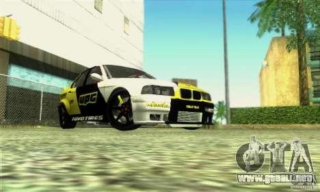 BMW E36 Urban Perfomance Garage para la visión correcta GTA San Andreas