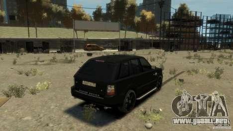 Land Rover Range Rover Sport para GTA 4 visión correcta