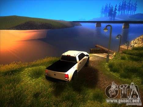 Dodge Ram Heavy Duty 2500 para visión interna GTA San Andreas