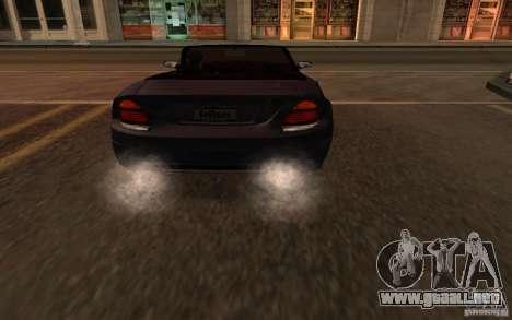 The best effects from GTA IV para GTA San Andreas quinta pantalla