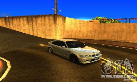 BMW M3 Tuneable para la visión correcta GTA San Andreas