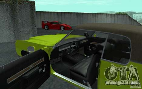 Chevrolet Impala 1971 para GTA San Andreas left