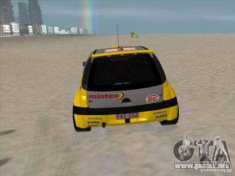 Opel Rally Car para la visión correcta GTA San Andreas