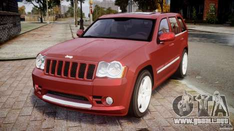 Jeep Grand Cherokee para GTA 4