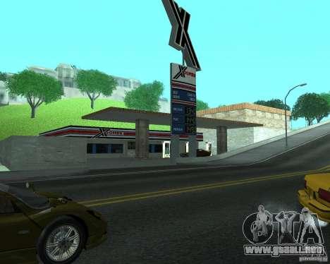 Nuevo letrero. nueva gasolinera. para GTA San Andreas