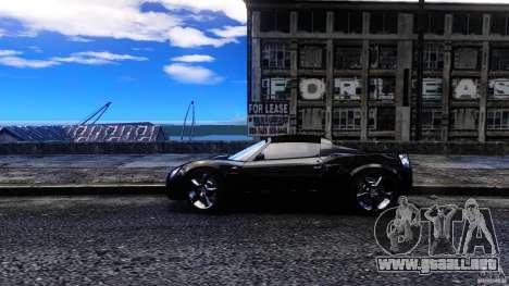 Opel Speedster Turbo para GTA 4 left
