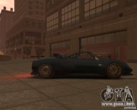 Pagani Zonda Tricolore para GTA 4 visión correcta