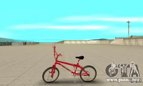Noxon Jump Bmx para GTA San Andreas left