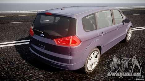 Ford Galaxy S-Max para GTA 4 vista lateral