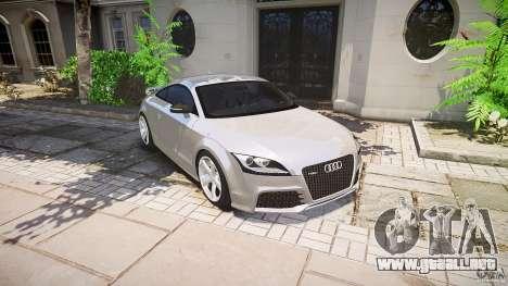 Audi TT RS 2010 para GTA motor 4