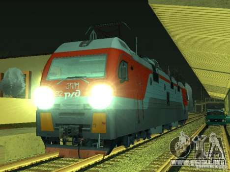 ÈP1M-392 OJSC «RUSSIAN RAILWAYS» para GTA San Andreas
