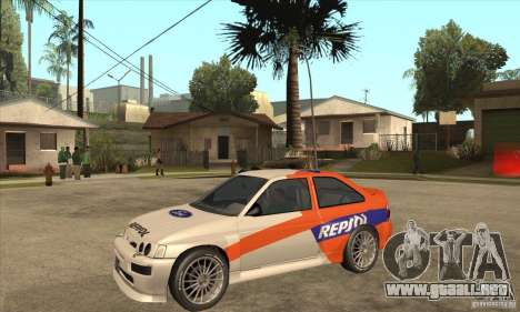 Ford Escort RS Cosworth para GTA San Andreas left