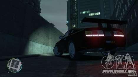 Ford Mustang GTR para GTA 4 left