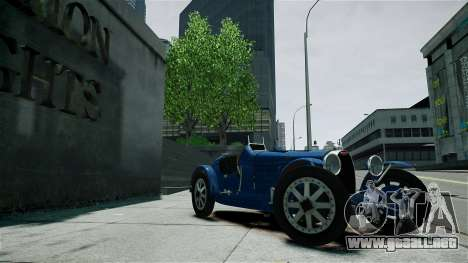 Bugatti Type 35C para GTA 4 vista lateral