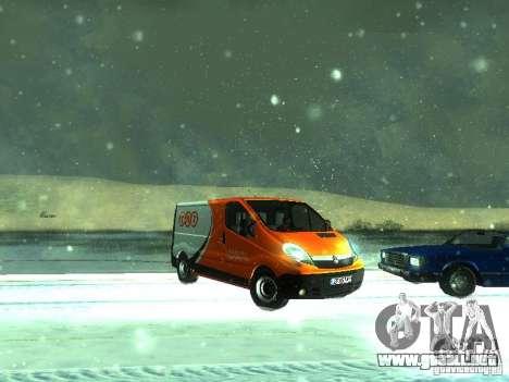 Vauxhall Vivaro v1.1 TNT para GTA San Andreas left