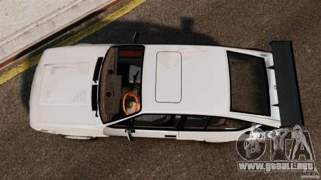 Alfa Romeo GTV6 1986 para GTA 4 visión correcta