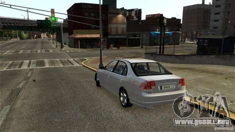Honda Civic V-Tec para GTA 4 visión correcta