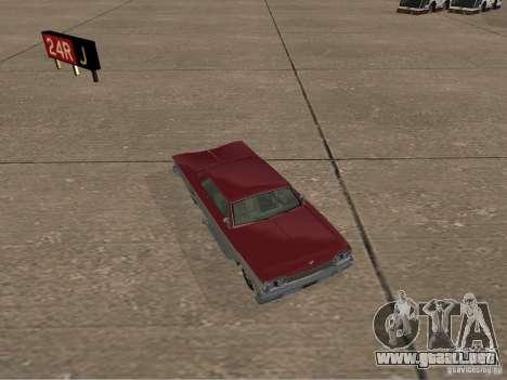 Vudú de GTA 4 para GTA San Andreas vista hacia atrás