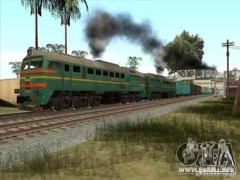 Carga Estados bálticos locomotora ferroviaria fo para GTA San Andreas