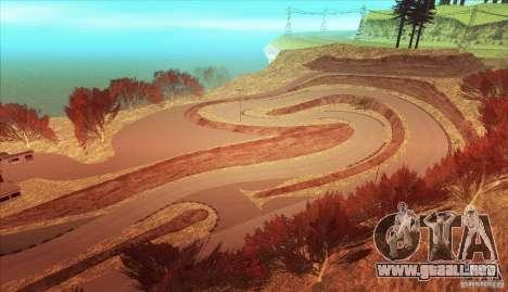 The Ebisu South Circuit para GTA San Andreas novena de pantalla