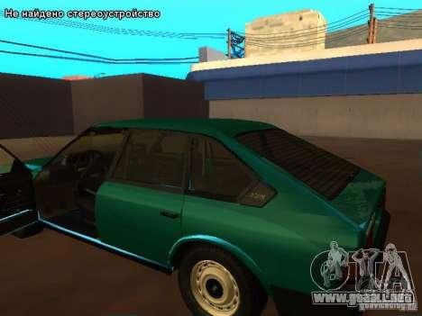Moskvich 2141 para vista lateral GTA San Andreas