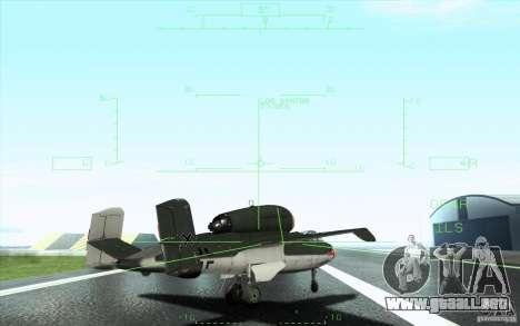 Henkel 162A Salamander para vista inferior GTA San Andreas