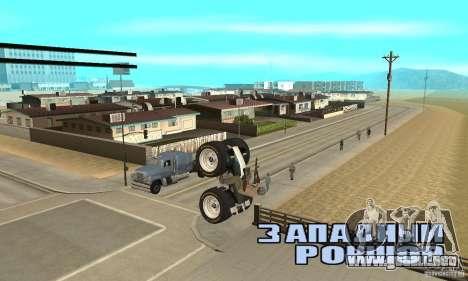 QUAD BIKE Custom Version 1 para la visión correcta GTA San Andreas