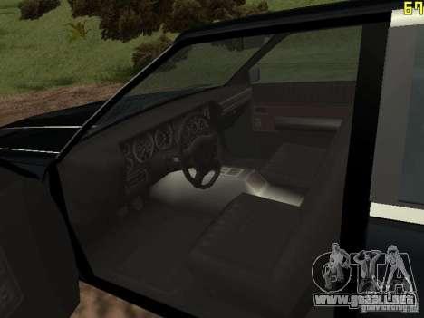 Romano es taxi de GTA 4 para la visión correcta GTA San Andreas