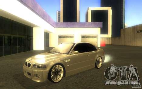 BMW M3 E46 V.I.P para GTA San Andreas