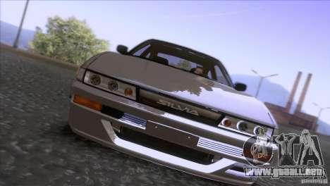 Nissan Sil80 para GTA San Andreas vista hacia atrás