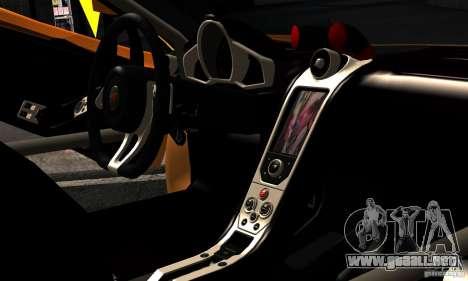 McLaren MP4-12C TT Black Revel para la visión correcta GTA San Andreas