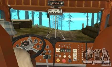 Peterbilt 289 para la visión correcta GTA San Andreas