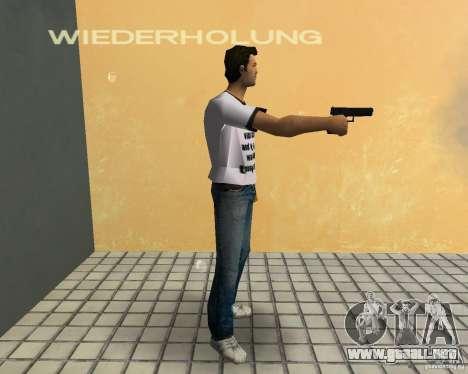 Pak armas de GTA4 para GTA Vice City undécima de pantalla