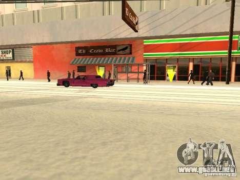 Aumentar el tráfico para GTA San Andreas sucesivamente de pantalla