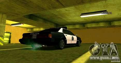 Sentinel Police LV para GTA San Andreas left