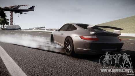 Porsche GT3 997 para GTA 4 vista hacia atrás