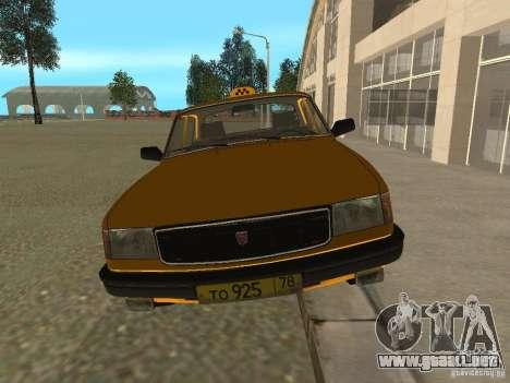 GAZ 31029 Taxi para GTA San Andreas